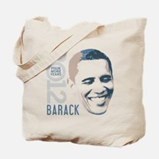 2012 Barack Face Tote Bag