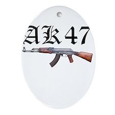 AK-47 Ornament (Oval)