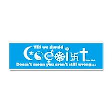 Coexist Car Magnet 10 x 3