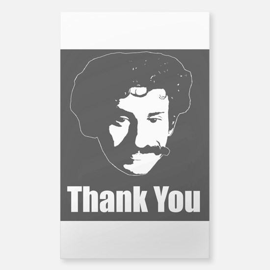 The Thank You Series Sticker (Rectangle)