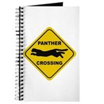 Panther Crossing Sign Journal