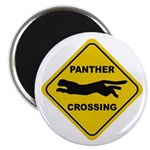 Panther Crossing Sign Magnet