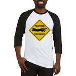 Panther Crossing Sign Baseball Jersey