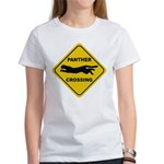 Panther Crossing Sign Women's T-Shirt