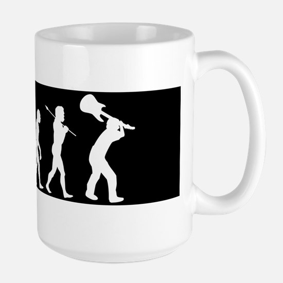 Rock Evolution Large Mug
