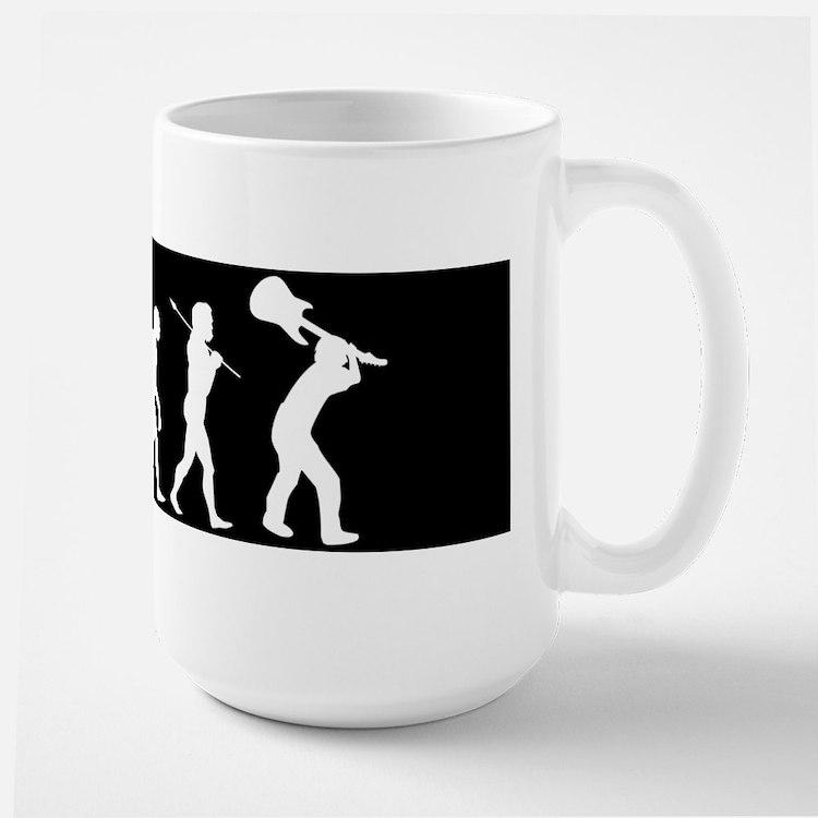 Rock Evolution Large Mug