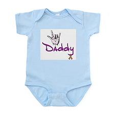 I love U Daddy - Autism Infant Creeper