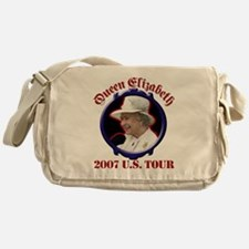 Queen Elizabeth 2007 US Tour Messenger Bag
