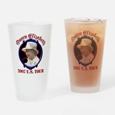 Queen Elizabeth 2007 US Tour Drinking Glass