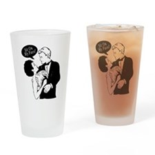 Sit On My Face Drinking Glass