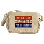 Re-Elect Client No. 9 Messenger Bag