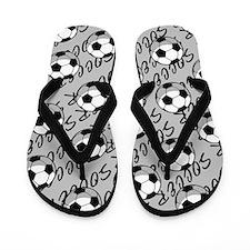 Soccer (9) Flip Flops
