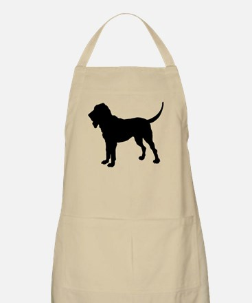 Bloodhound Silhouette Apron