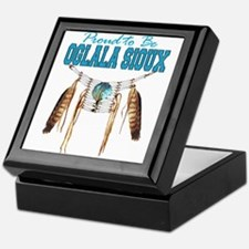Proud to be Oglala Sioux Keepsake Box