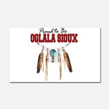 Proud to be Oglala Sioux Car Magnet 20 x 12