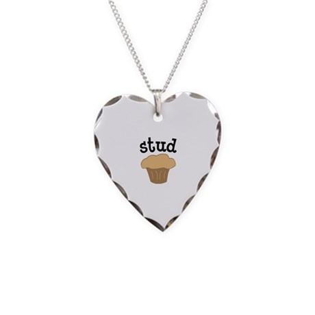Cherry Valentines Day Necklace Heart Charm