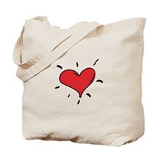 Ant Caring LOTS of LOVE Tote Bag