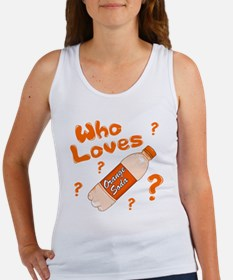 Who Loves Orange Soda Women's Tank Top