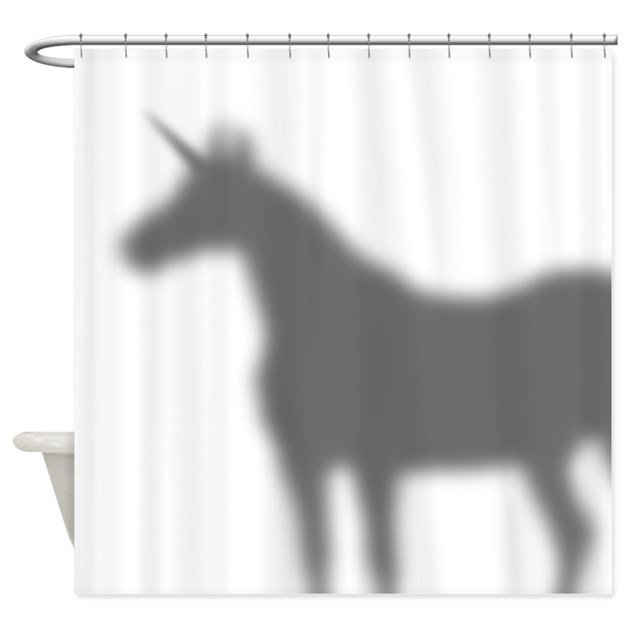 Unicorn In The Shower Curtain by ADMIN_CP3269