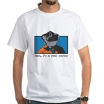 Real Cowboy White T-Shirt