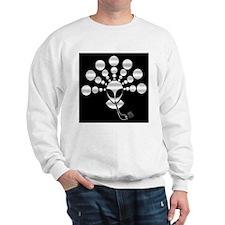 Smoking Alien Sweatshirt