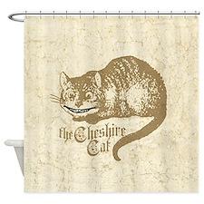 Cute Lewis carroll Shower Curtain