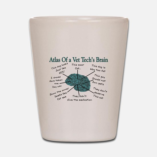 Atlas Of... Shot Glass