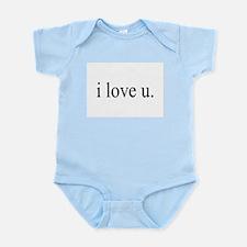 i love u. Infant Creeper