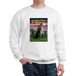 Blessed to be Free Black Lab Sweatshirt