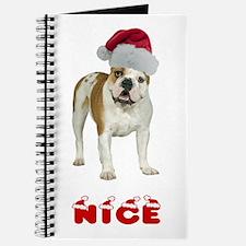 Nice Bulldog Journal