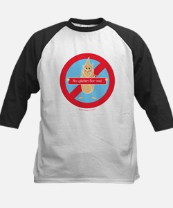 No Gluten For Me! By Allergy-A-Wea Baseball Jersey