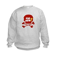 Caf-Pow Skull Sweatshirt