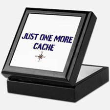 Just One More Cache Keepsake Box