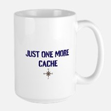 Just One More Cache Ceramic Mugs