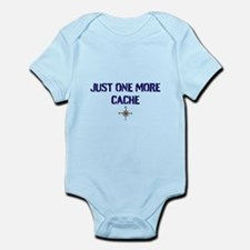 Just One More Cache Infant Bodysuit