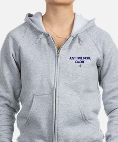 Just One More Cache Zip Hoodie