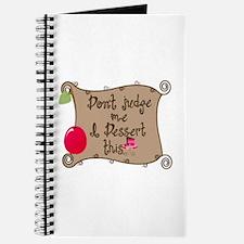 I Dessert This Journal