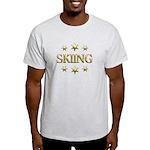 Skiing Stars Light T-Shirt