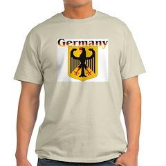 Germany / German Crest Ash Grey T-Shirt