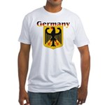 Germany / German Crest Fitted T-Shirt
