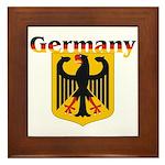 Germany / German Crest Framed Tile