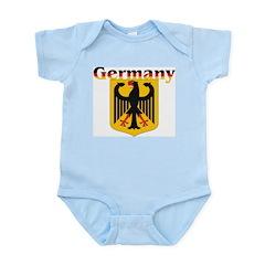 Germany / German Crest Infant Creeper