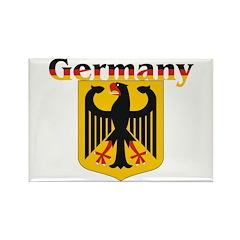 Germany / German Crest Rectangle Magnet (10 pack)