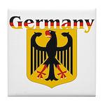 Germany / German Crest Tile Coaster