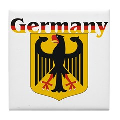 Germany / German Crest Tile Coaster