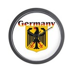 Germany / German Crest Wall Clock