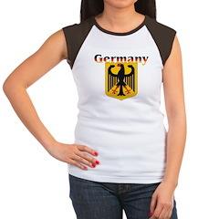Germany / German Crest Women's Cap Sleeve T-Shirt