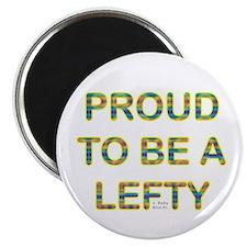Proud Lefty Magnet
