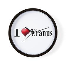 I Love Uranus Wall Clock