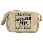 Nurses Are Angels Messenger Bag
